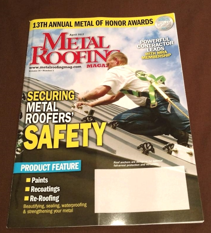 SeamSAFE Featured in Metal Roofing Magazine