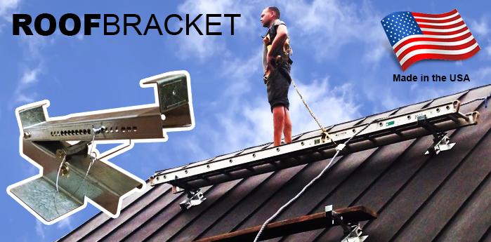 seamsafe roof brackets mount a rooftop walkboard - Roof Brackets